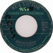 Douglas  Rankine with the Secrets -- Clear the Track Here Comes Shack / Warming the Bench - 7