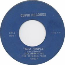 Jack  Hennig and the Breaking Point Group &middot Busy People / Maybe Tomorrow - 7
