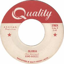 King-Beezz -- Gloria / She Belongs to Me - 7