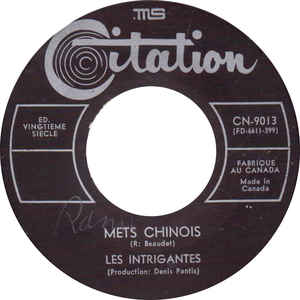 Les Intigrantes &middot Mets chinois / Le seuil du soleil -  7