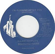 Major Hoople's Boarding House -- I'm Running After You / Questions in Mind - 7