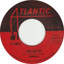 Mandala -- You Got Me / Help Me - 7