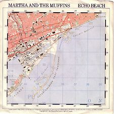 Martha and the Muffins -- Echo Beach / Teddy the Dink - 7