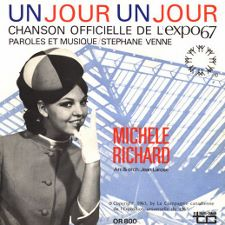 Michele Richard -- Un Jour, Un Jour / Hey Friend, Say Friend - 7
