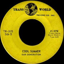 Our Generation -- Out to Get Light / Cool Summer - 7