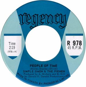 Simple Simon and the Piemen &middot People of Time / Anyhow - 7