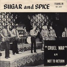 Sugar and Spice &middot Cruel War / Not to Return - 7
