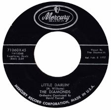 The Diamonds -- Little Darlin' / Faithful and True - 7