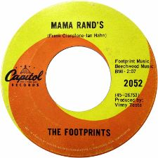 The Footprints -- Never Say Die / Mama Rand's - 7