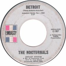 The Nocturnals &middot Do What You Want / Detroit - 7