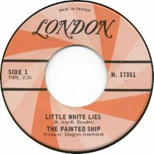The Painted Ship -- Little White Lies / Frustration - 7
